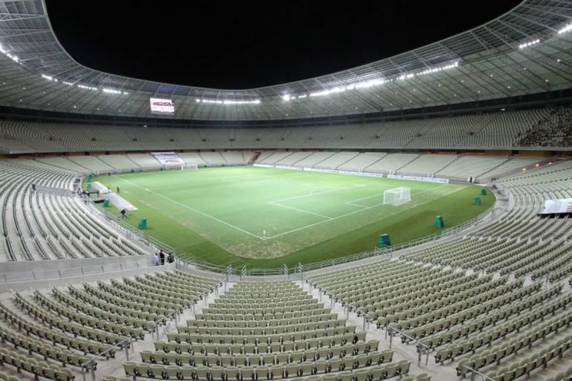 Estádio Castelão foi palco de seis jogos na Copa do Mundo de 2014