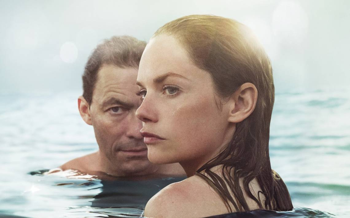 Dominic West e Maura Tierney na série The Affair