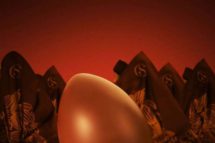 Um dos ovos de Páscoa produzidos pela empresa é o CS Brigadeiro (Foto: Reprodução do Instagram da Cacau Show)