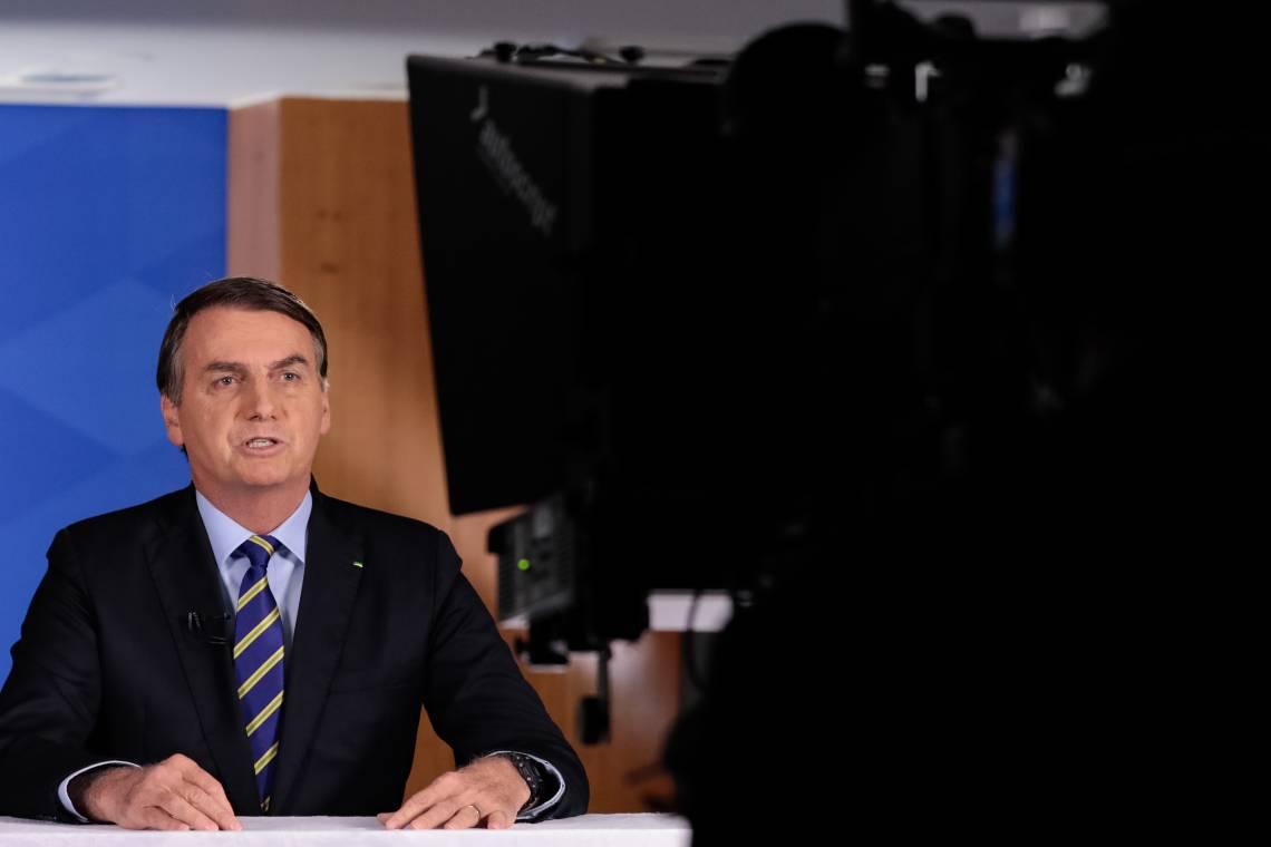 EM NOVO pronunciamento em rede nacional, o 5º desde o início da pandemia, Bolsonaro voltou a adotar tom mais brando e a defender o uso da cloroquina