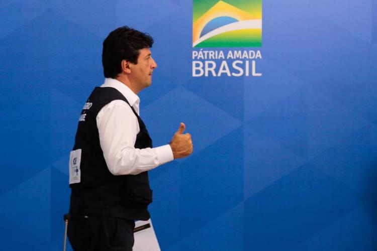 MANDETTA ficou no cargo de ministro da Saúde do governo Bolsonaro por um ano e quatro meses(Foto: Marcello Casal Jr/Agência Brasil)
