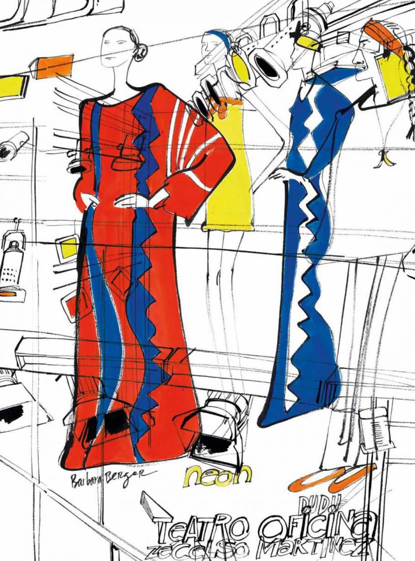 Moda Ilustrada por vários autores