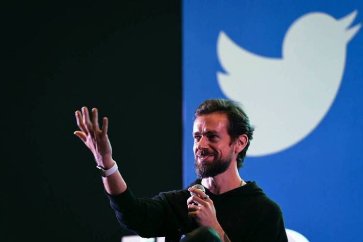 Jack Dorsey, presidente do Twitter (Foto: Prakash SINGH / AFP)