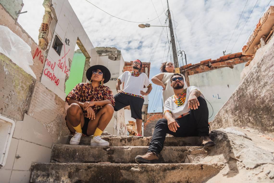 Banda Ghetto Roots lança disco de estreia