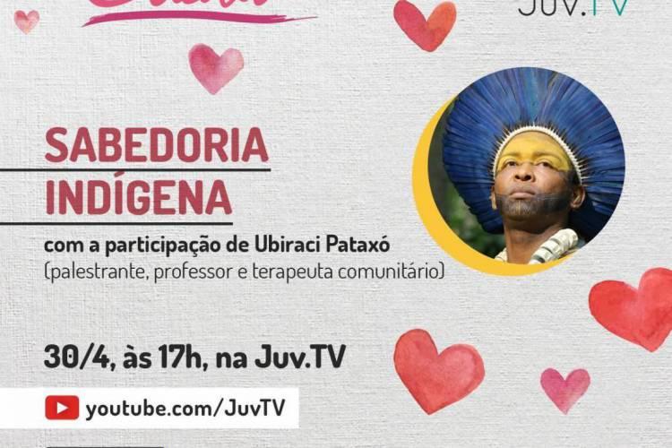Banner de divulgação da live (Foto: Divulgação)