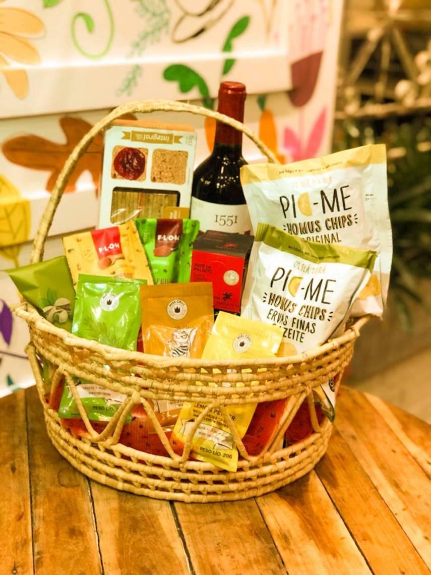 Mercado Vida Saudável oferece cestas a partir de R$ 90