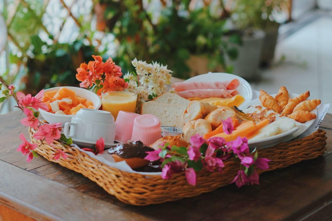 Opção de O Banquete para o Dia das Mães