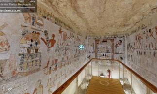 A tumba de Menna é de meados da 18ª dinastia real egípcia