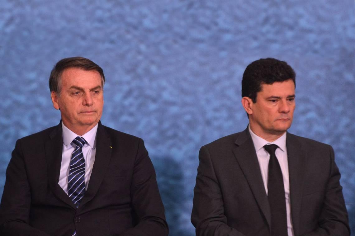 Rompimento entre Jair Bolsonaro e Sergio Moro colaborou para derrocada da operação