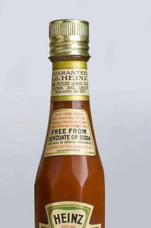 Embalagem antiga do ketchup Heinz (Foto: divulgação)
