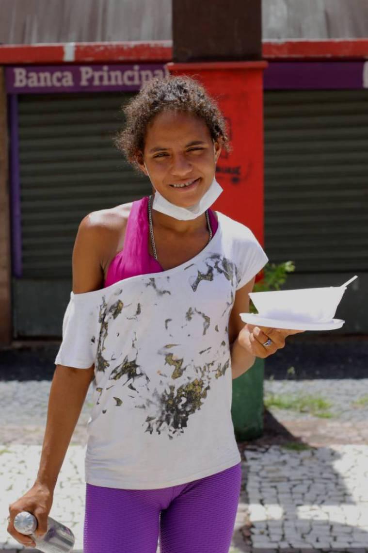 Pabla Caroline Pereira, 26, decide contar sua história