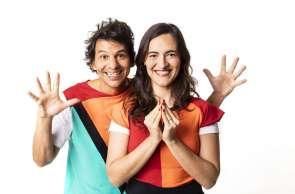 A dupla Tiquequê é a atração infantil da programação semanal do Sesc