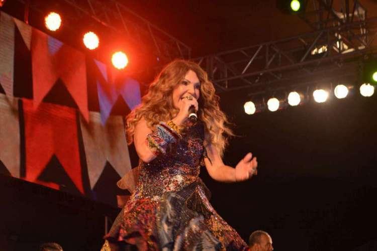 Elba Ramalho canta sucessos de sua carreira em sua primeira live, com temática junina (Foto: Divulgação)