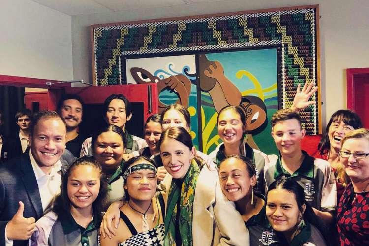 Primeira ministra da Nova Zelândia, Jacinda Ardern