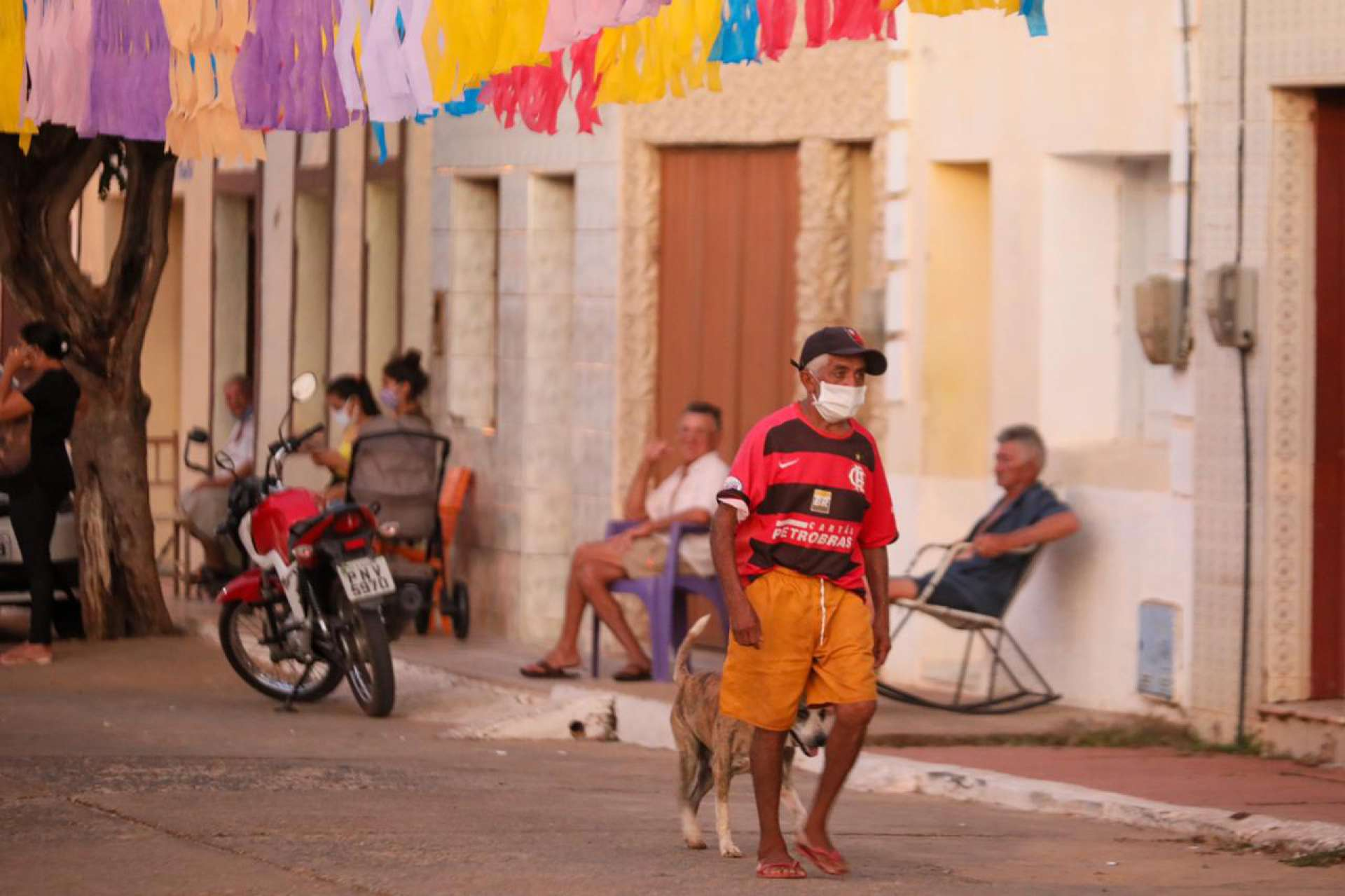 Considerada pacata pelos moradores, Granjeiro registrou um caso de Covid-19 após três meses de isolamento social