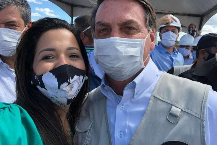 Vereadora Priscila Costa e Bolsonaro