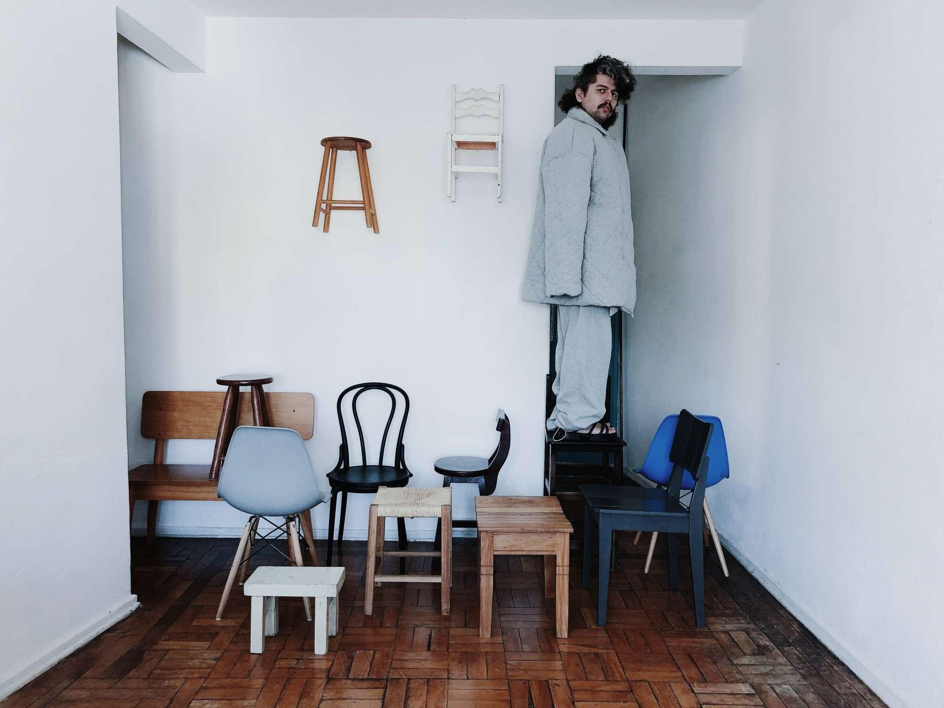 Cacau Francisco foi pesquisador em criatividade e processos criativos no coletivo Grupo Maior que Eu, situado na Casa do Povo (São Paulo)