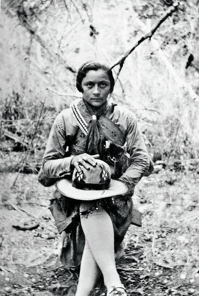 Foto histórica que apresentou Maria Bonita ao mundo foi publicada em primeira mão pelo   O POVO em 29 de dezembro de 1936