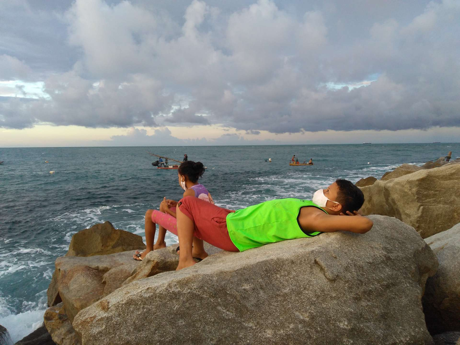 Piauiense, mas moradora de Fortaleza há 28 anos, Jane Batista mora próximo ao Cais do Porto e seu registro foi feito na praia