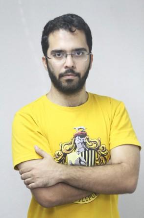 André Bloc, jornalista do O POVO (Fortaleza, CE, Brasil, 10-03-2017. MATEUS DANTAS)