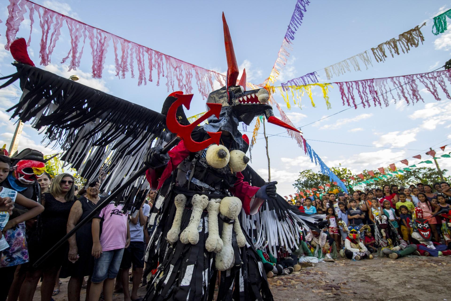Festival de Caretas do Sítio Taquari em Barbalha, no Ceará