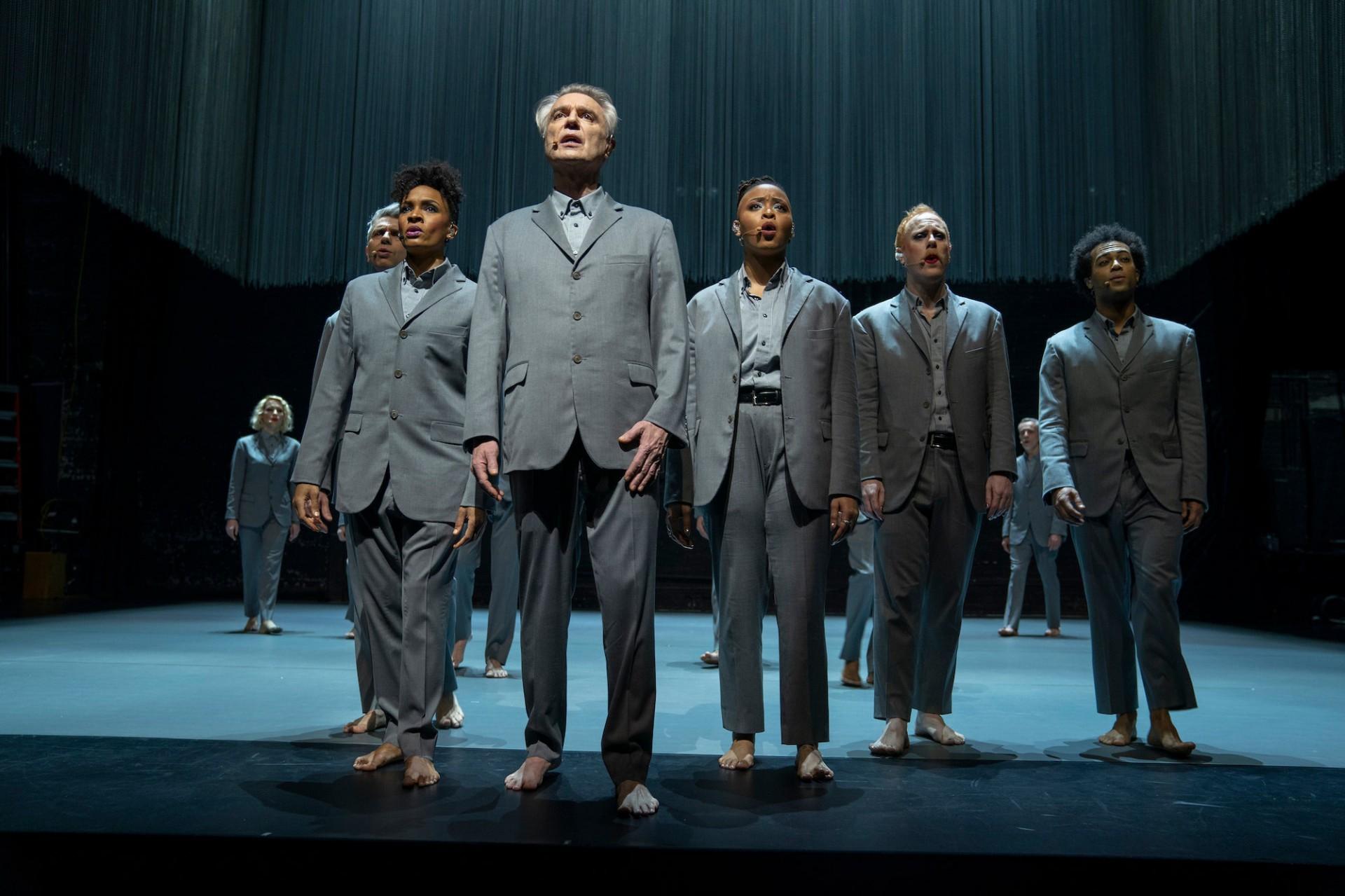 American Utopia, filme de Spike Lee sobre uma residência artística de David Byrne, foi o escolhido pra abertura do Festival de Toronto (Foto: Divulgação)