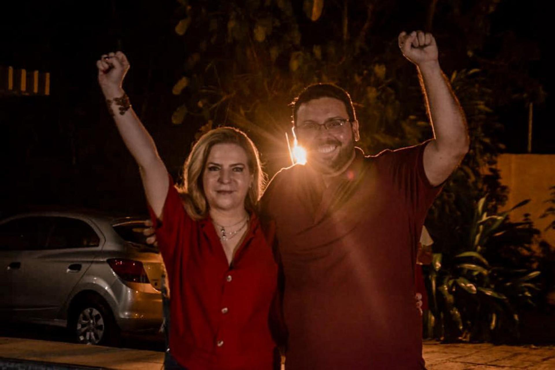 PT lançou candidatura à Prefeitura de Fortaleza com Luizianne Lins e Vladyson Viana