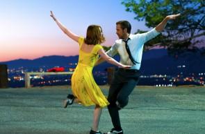 Mia (Emma Stone) und Sebastian (Ryan Gosling) em La La Land