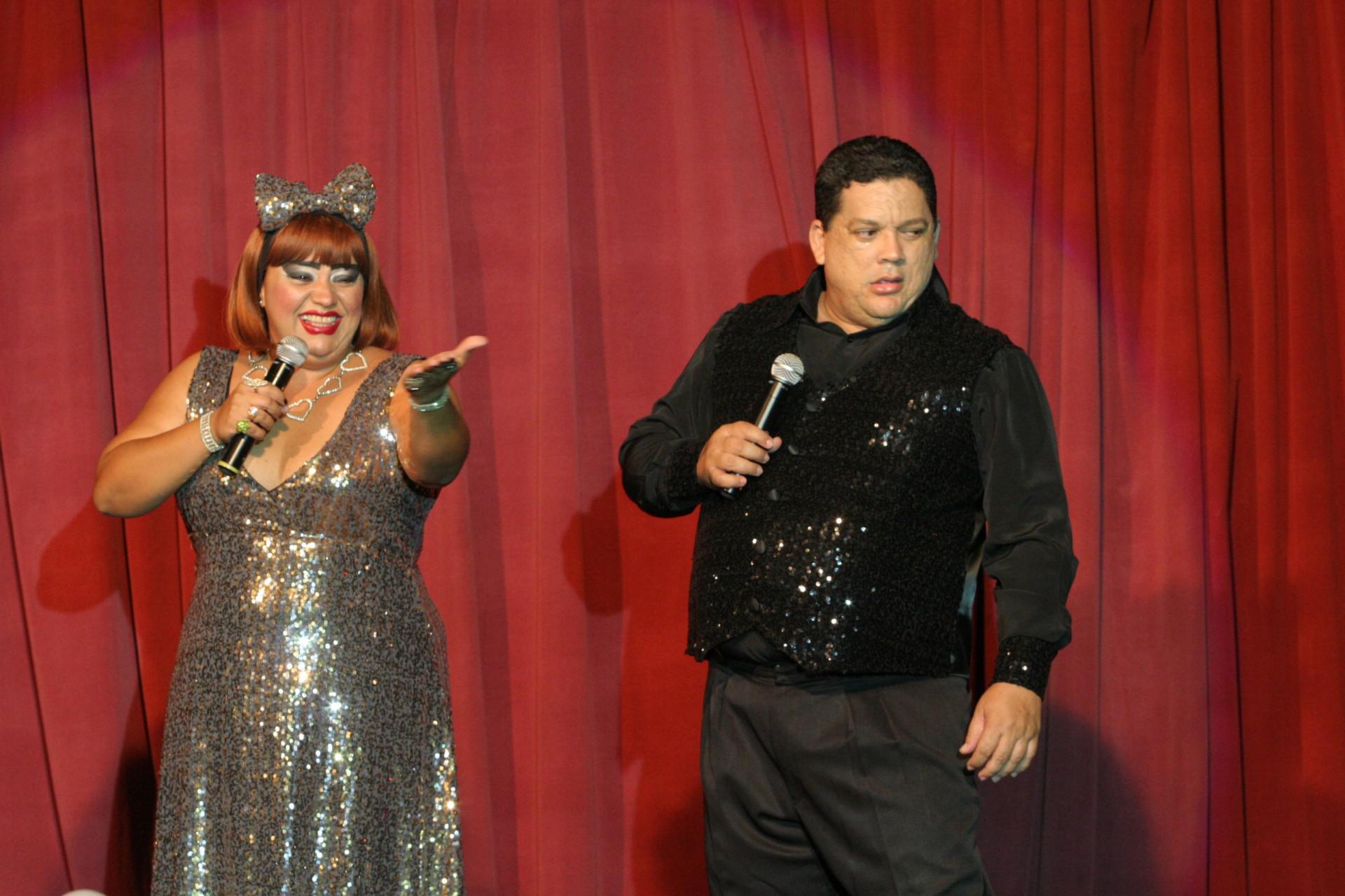 Show de Rossicléa e Lailtinho Brega na Lupus Bier no ano de 2006