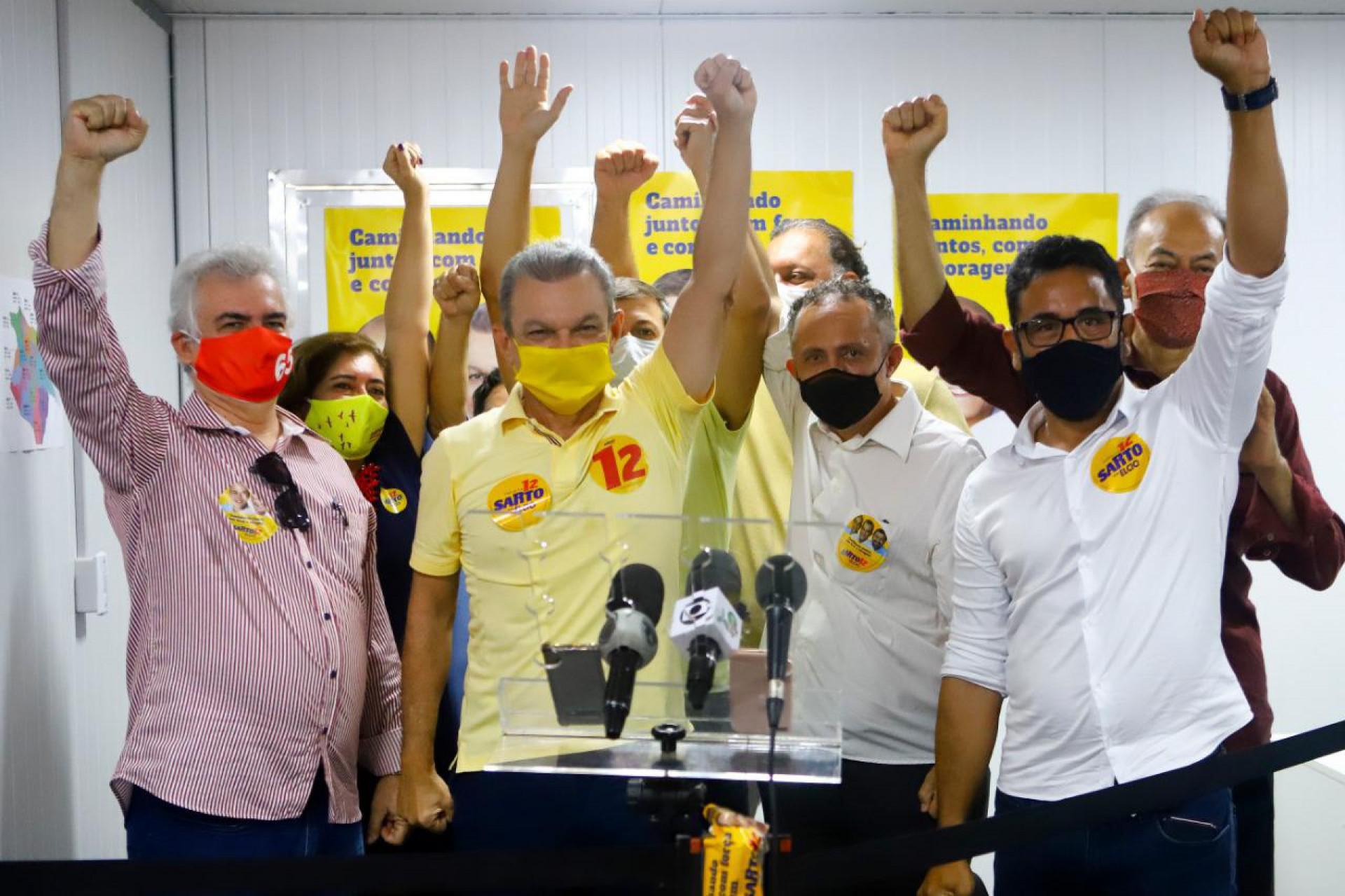 SARTO recebeu apoio das principais lideranças do PCdoB em Fortaleza