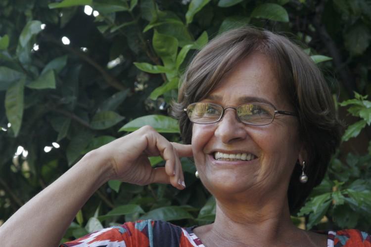 Entrevista com Tereza Albuquerque, ex-guerrilheira no Araguaia. Na foto: Tereza Albuquerque, ex-guerrilheira no Araguaia. Foto: Igor de Melo, em 03/09/2009. (Foto: O POVO)