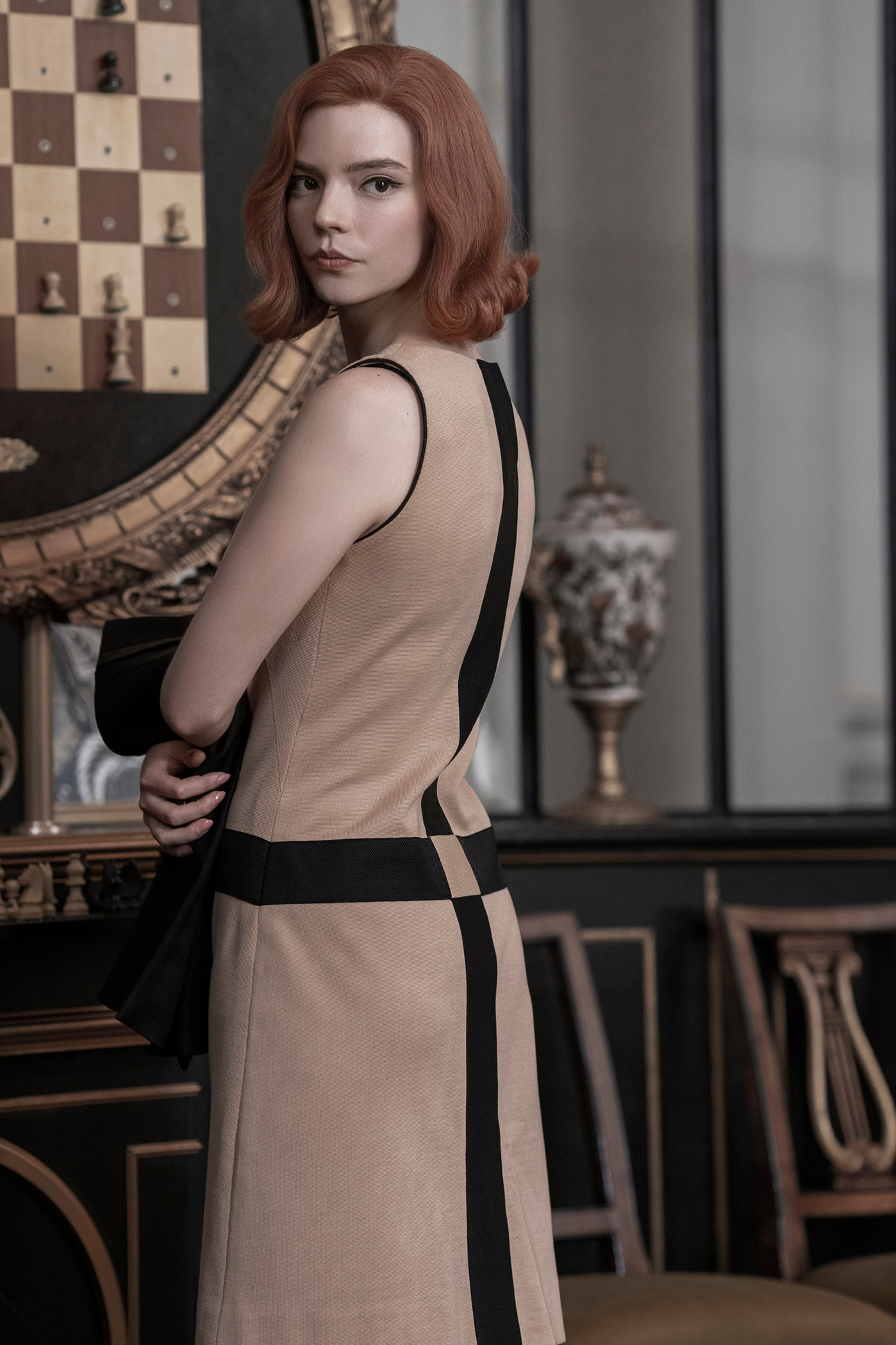 """Série """"O Gambito da Rainha"""" é um convite à compreensão do estilo pessoal (vivido por Beth Harmon) (Foto: Divulgação/Netflix)"""