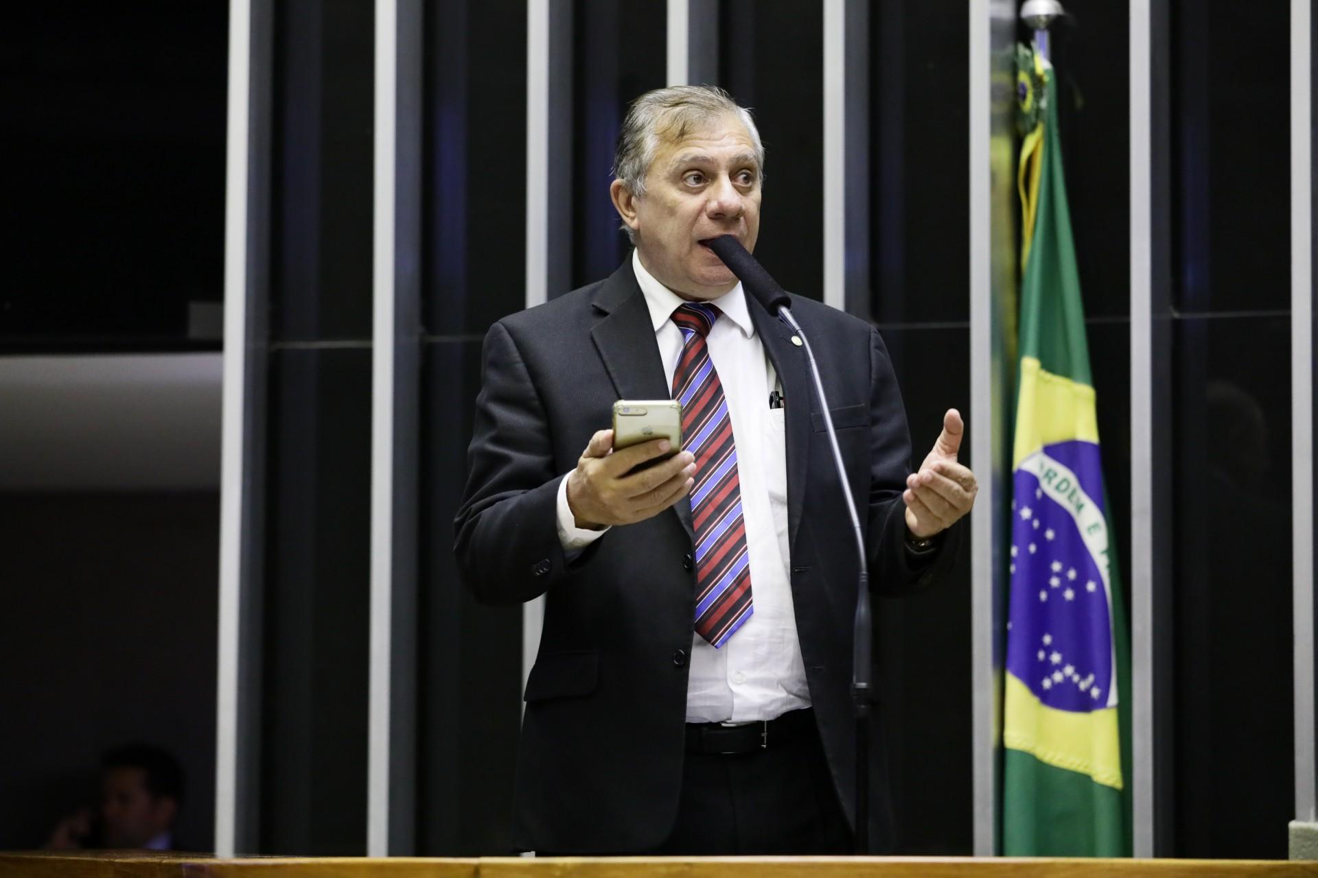 DEPUTADO Federal José Aírton quer uma aproximação do PT com o governo Sarto (Foto: Luis Macedo/Câmara dos Deputados)