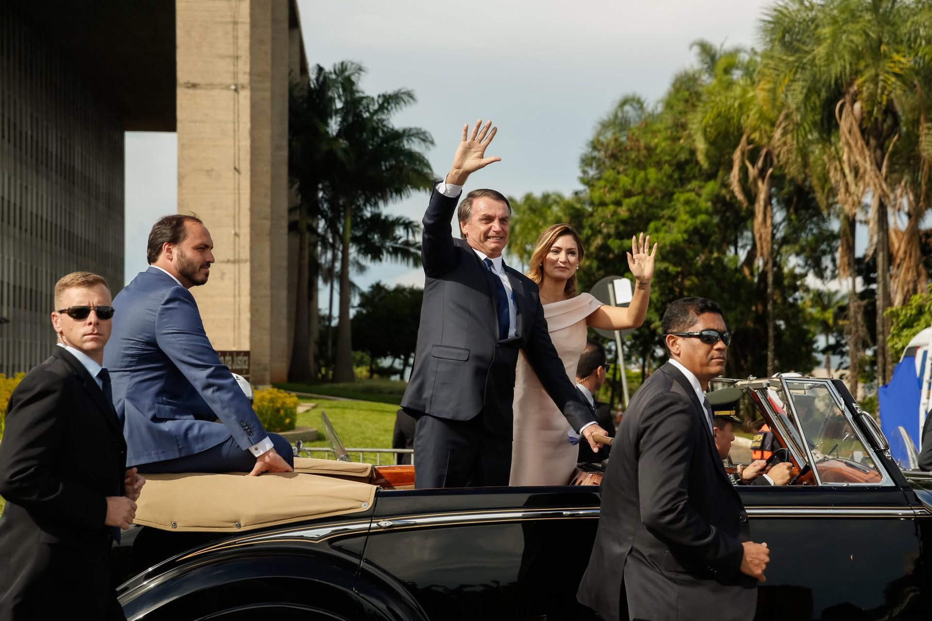 (Foto: Isac Nobrega/Presidência da República)Posse de Jair Bolsonaro em 01/01/2019. Abertura da Sessão Solene de Posse..Foto: Isac Nobrega/Presidência da República