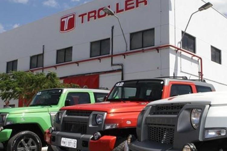 Fábrica da Troller em Horizonte (Foto: Divulgação)
