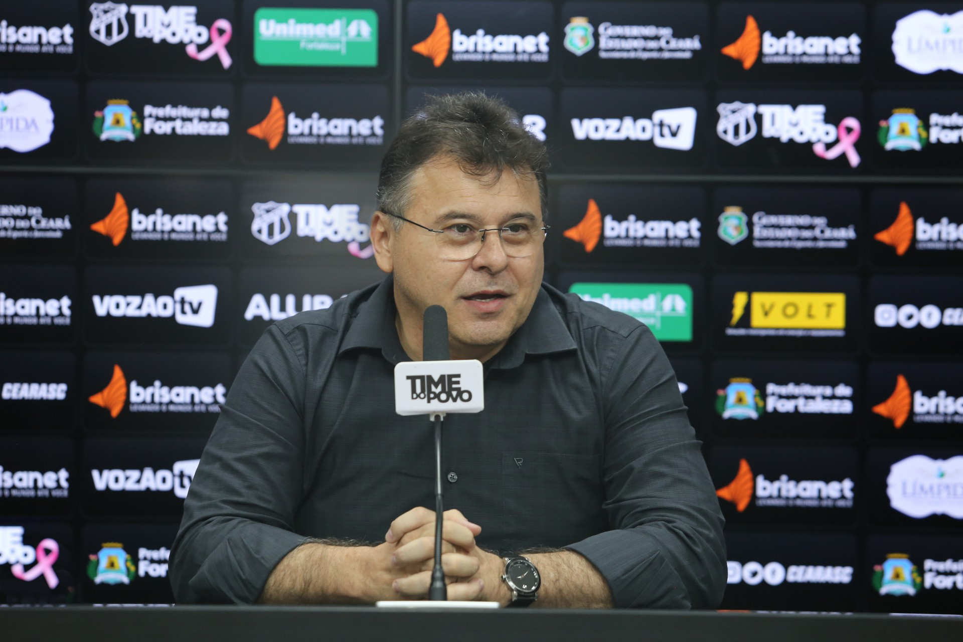 Robinson de Castro falou sobre temporada de sucesso do Ceará