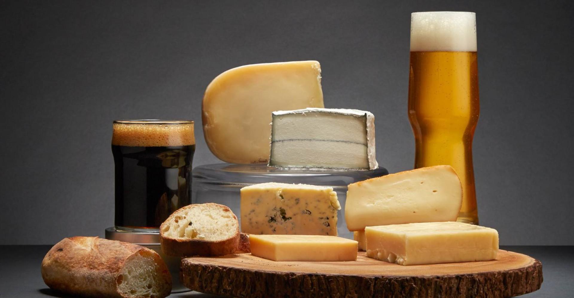 Cerveja & Queijos: uma combinação perfeita