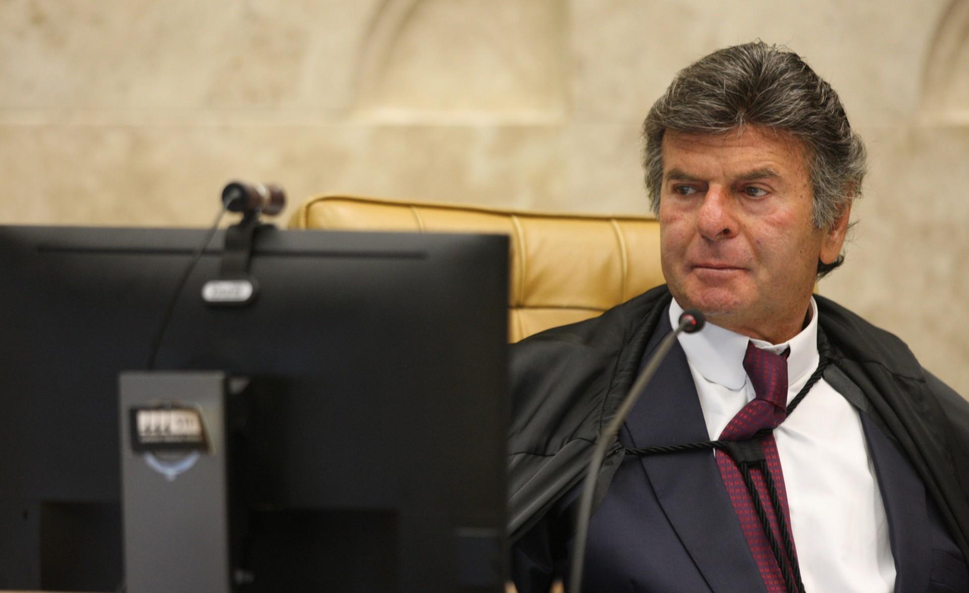 Ministro Luiz Fux, presidente do STF