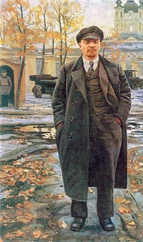 Em 1917, apoiou Lênin na Revolução Russa, mas criticou o movimento bolchevique e foi presa.
