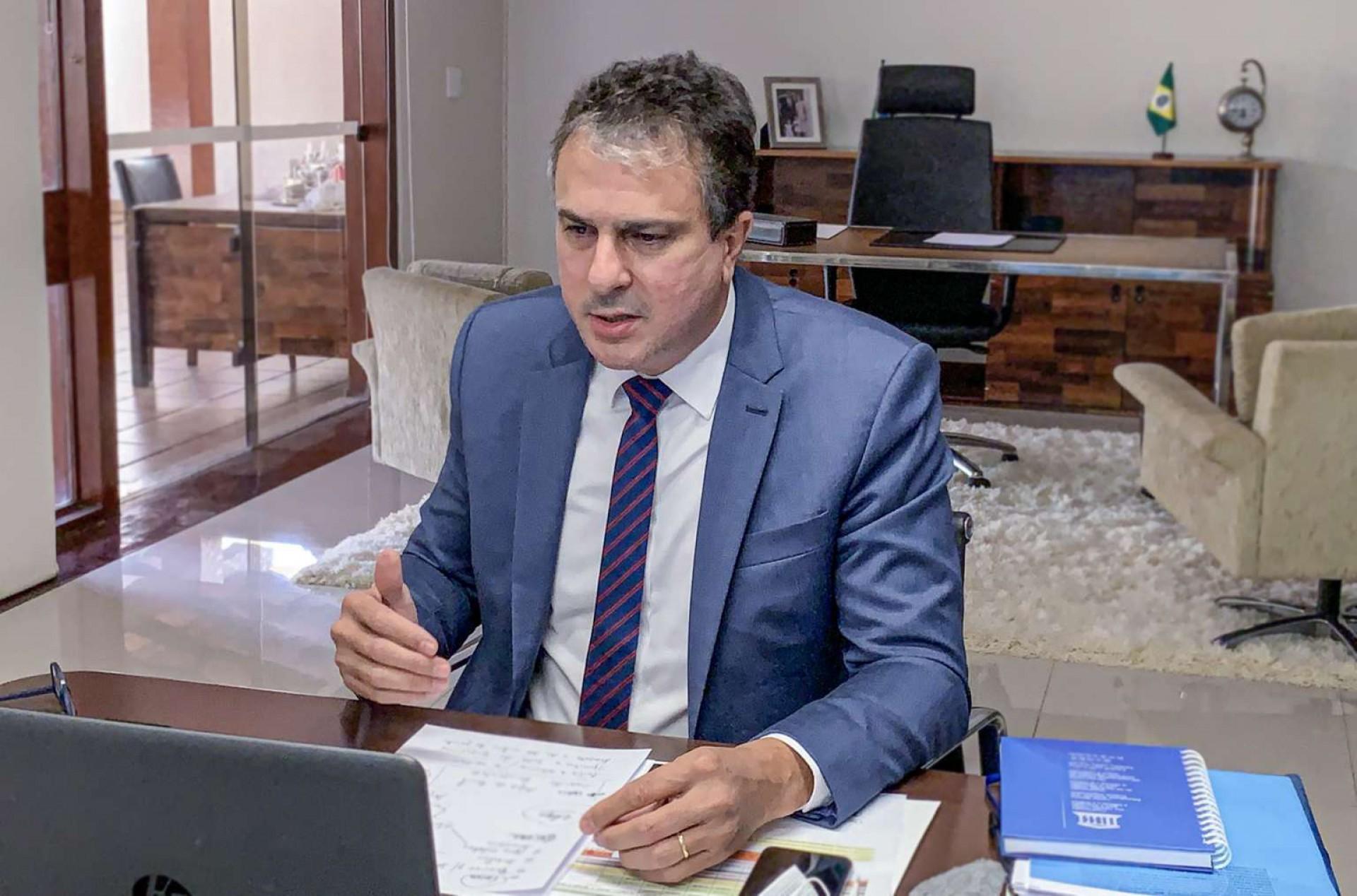 CAMILO pontua na parte de cima do ranking de governadores nas redes sociais (Foto: Governo do Ceará/Divulgação)