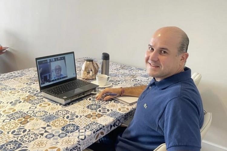 Ex-prefeito Roberto Cláudio: pós-doutorado em São Paulo