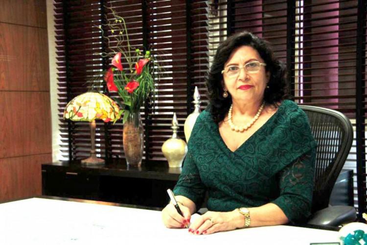 Desembargadora Nailde Pinheiro, presidente do TJ