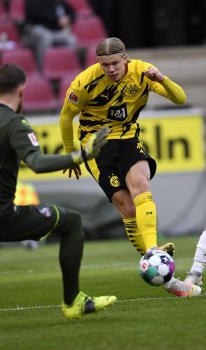 4º - Atacante noruegês Erling Haaland, 20 anos, do Borussia Dortmund. Avaliado em 110 milhões de euros.