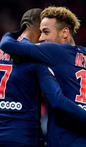 Ele fica atrás (e muito) apenas do companheiro de PSG, Kylian Mbappé, francês avaliado em 180 milhões de euros.