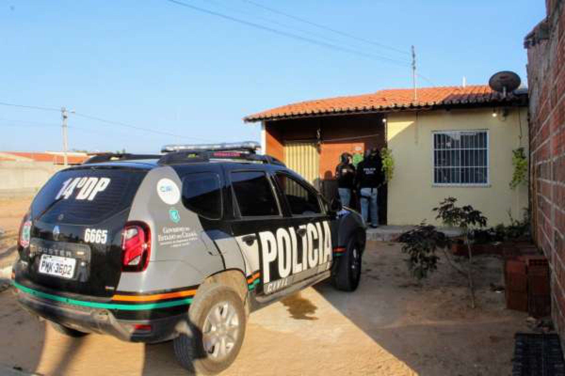 Foto disponibilizada pela SSPDS no dia da operação que prendeu sete dos acusados