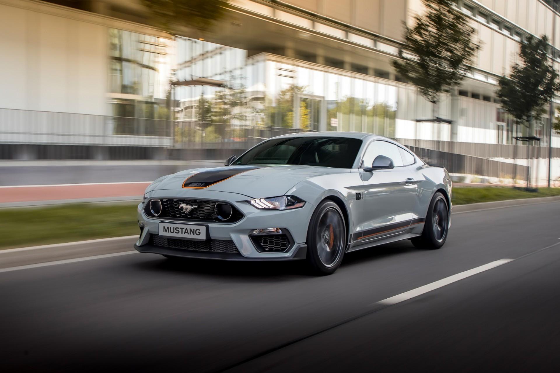 Ford lança o Mustang Mach 1 por R$ 499 mil