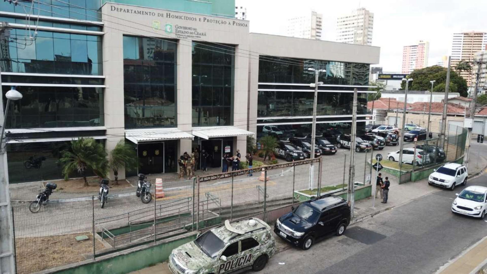 DHPP é responsável por investigar assassinatos consumados em Fortaleza e em mais oito cidades da Região Metropolitana
