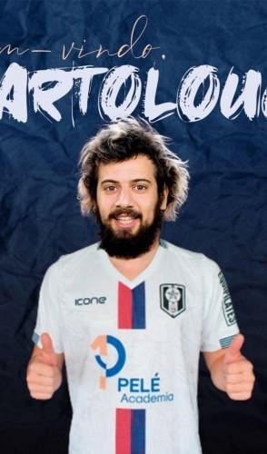 Lucas Strabko pode fazer sua estreia com a camisa do Resende, clube com quem assinou contrato em março deste ano para a disputa do Estadual  (Foto: Resende FC / Divulgação)