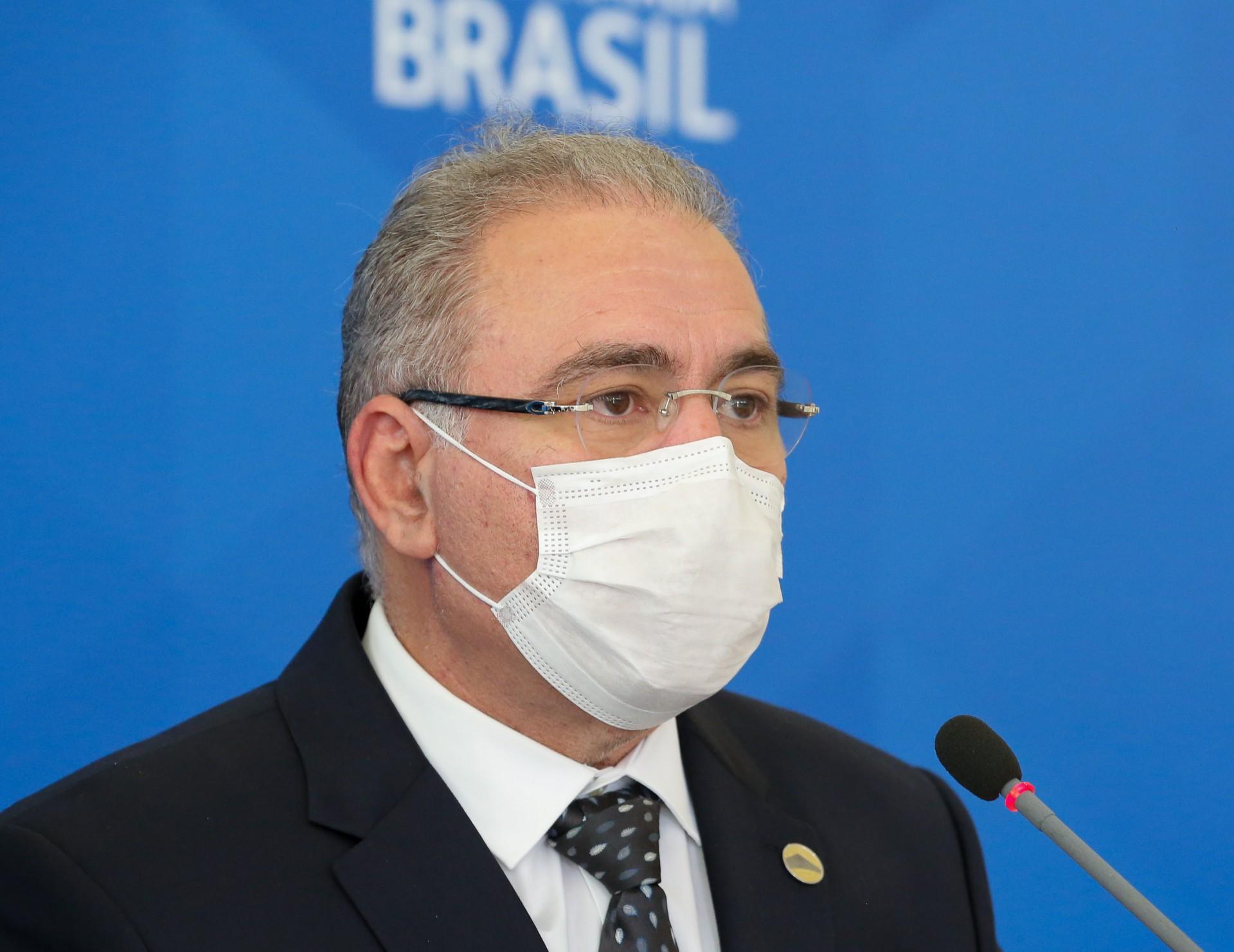 MINISTRO foi sabatinado por senadores (Foto: Julio Nascimento/Presidência da República)