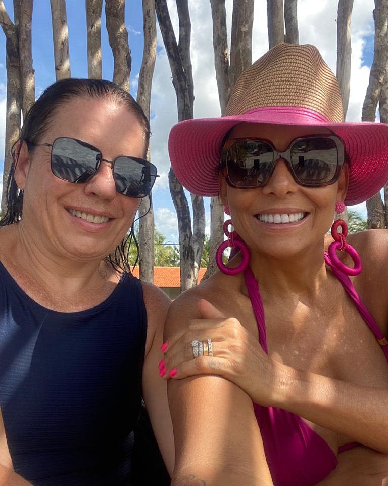 Denise Bezerra e Gil Santos